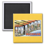 Greetings from Ann Arbor, Michigan! Refrigerator Magnets