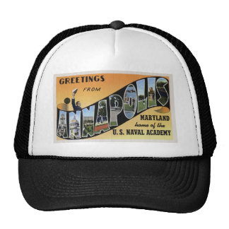 Greetings from Annapolis Maryland Trucker Hat