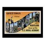 Greetings from Annapolis Maryland Post Cards