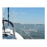 Greetings from Annapolis postcard