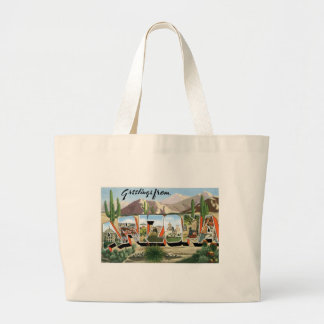 Greetings from Arizona! Canvas Bags