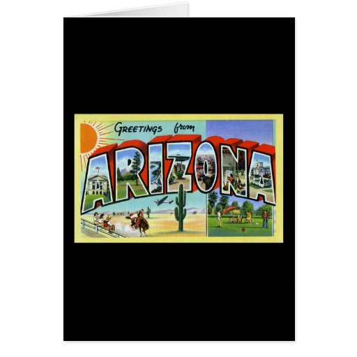 Greetings from Arizona Cards
