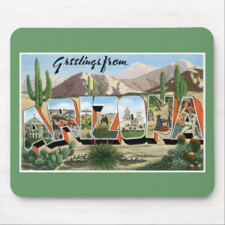 Greetings from Arizona! Mouse Pad