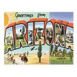 Greetings From Arizona Postcard