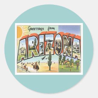 Greetings From Arizona Sticker