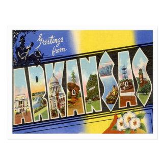 Greetings From Arkansas Postcards