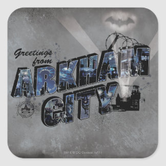 Greetings from Arkham City 2 Sticker