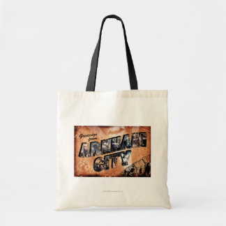 Greetings from Arkham City Tote Bag