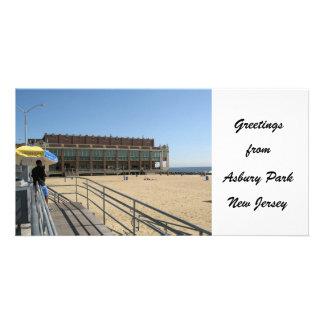 Greetings from Asbury Park NJ Card