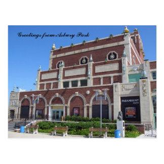 Greetings from Asbury Park, NJ - Paramount Theater Postcard
