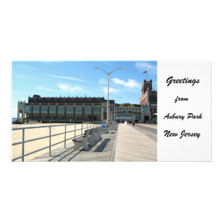 Greetings from Asbury Park, NJ Personalized Photo Card