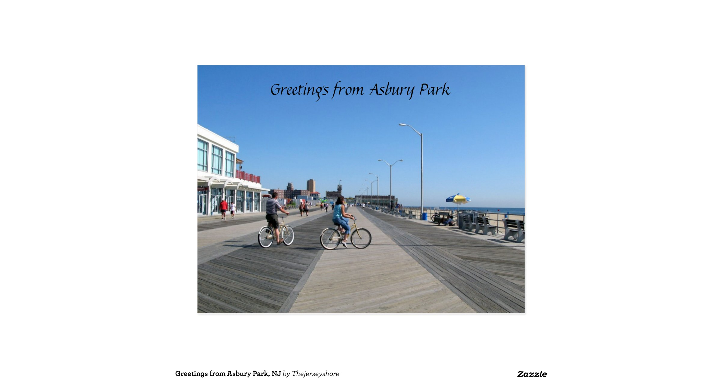 Greetings From Asbury Park Zipcose Letterwines