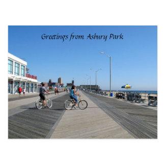 Greetings from Asbury Park, NJ Postcard