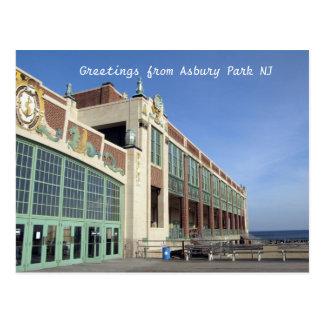Greetings from Asbury Park NJ Postcard