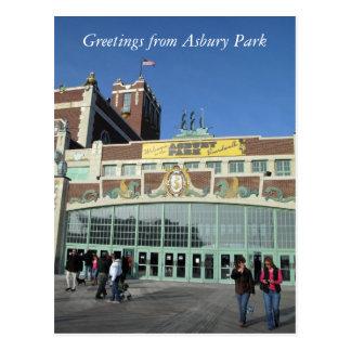 Greetings from Asbury Park Postcard