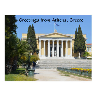 Greetings from Athens, Greece Postcard