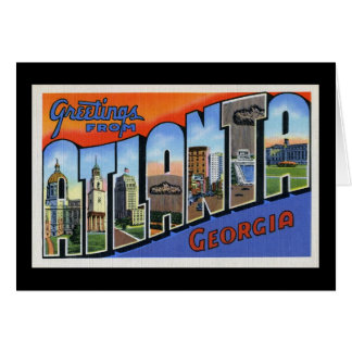 Greetings from Atlanta Card