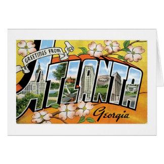 Greetings from Atlanta, GA! Card