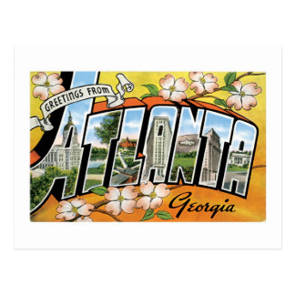 Greetings from Atlanta, GA! Postcard