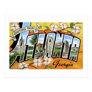 Greetings from Atlanta, GA! Postcard