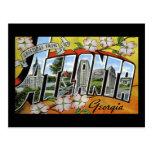 Greetings from Atlanta Georgia Postcards