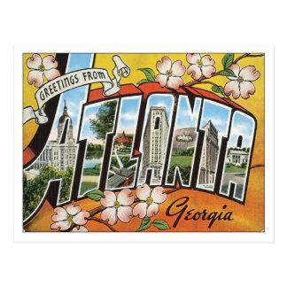 Greetings From Atlanta Postcard