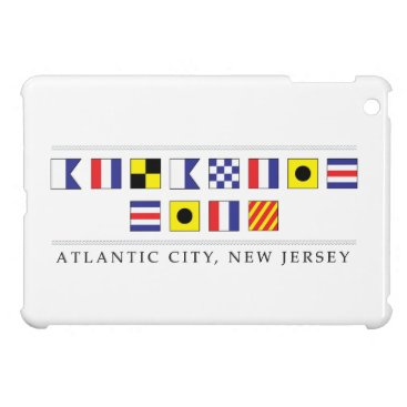 Beach Themed Greetings from Atlantic City Cover For The iPad Mini