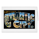 Greetings from Atlantic City! Greeting Card