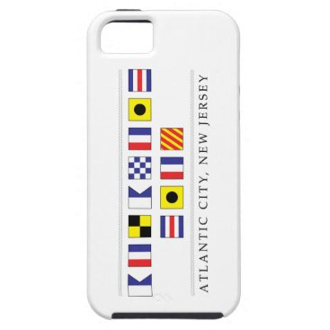 Beach Themed Greetings from Atlantic City iPhone SE/5/5s Case