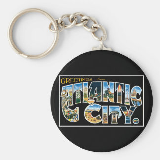 Greetings from Atlantic City! Key Chains