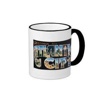 Greetings from Atlantic City! Coffee Mugs