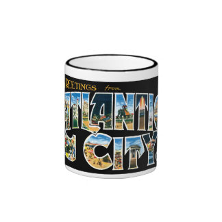 Greetings from Atlantic City! Mug