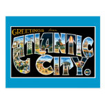 Greetings from Atlantic City Post Card