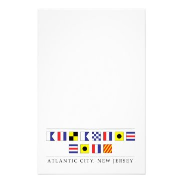 Beach Themed Greetings from Atlantic City Stationery