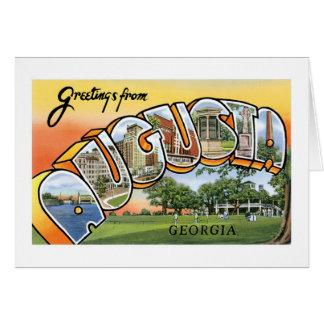 Greetings from Augusta, GA! Greeting Card