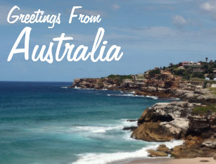Greetings from australia postcards zazzle greetings from australia postcard m4hsunfo