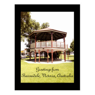 Greetings from Bairnsdale, Victoria, Australia Postcard