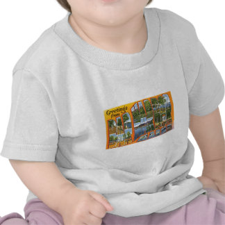 Greetings from Bar Harbor Maine T Shirts