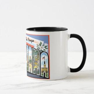 Greetings from Baton Rouge Louisiana Mug
