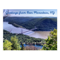 Greetings from Bear Mountain Postcard