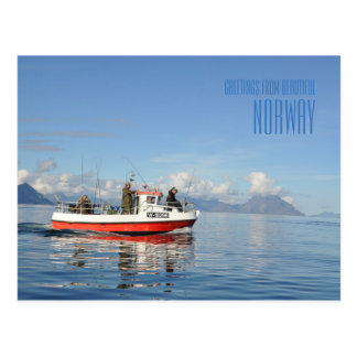 Greetings from beautiful Lofoten Norway photo card