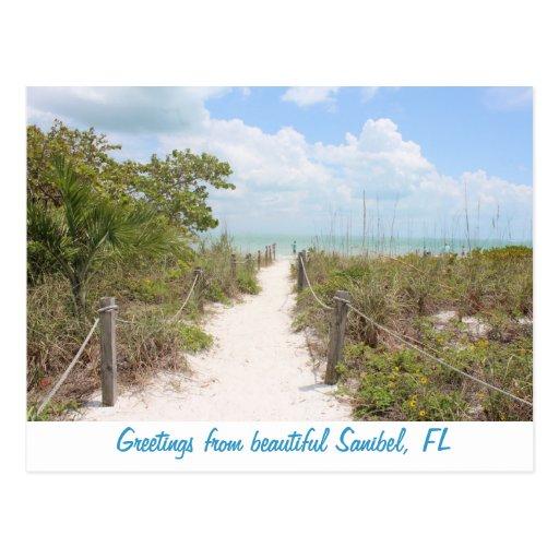 Greetings from Beautiful Sanibel, Florida postcard