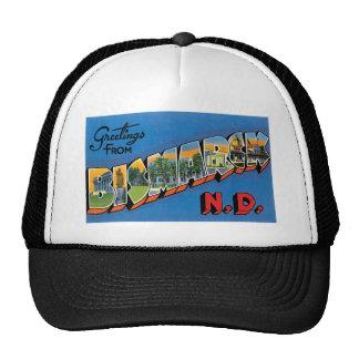Greetings from Bismarck, North Dakota! Trucker Hats