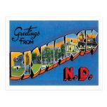 Greetings From Bismarck North Dakota US City Postcard