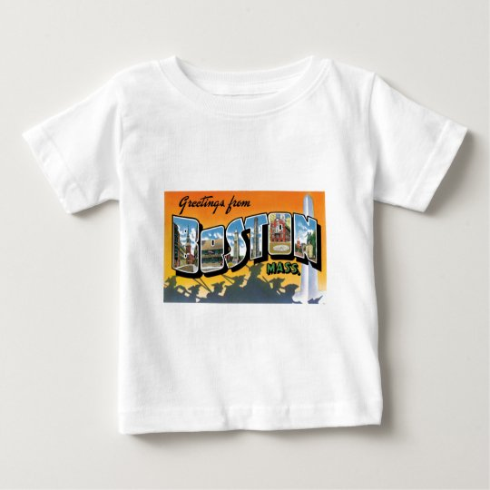 Greetings from Boston! Baby T-Shirt