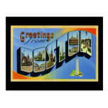 Greetings from Boston Massachusetts Postcard