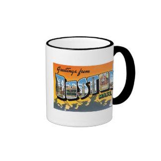 Greetings from Boston Coffee Mugs