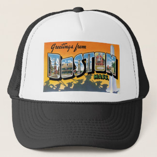 Greetings from Boston! Trucker Hat