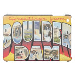 Greetings From Boulder Dam, Vintage Cover For The iPad Mini