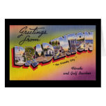 Greetings from Bradenton Florida Greeting Card